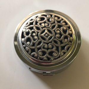 Brighton pill box travel purse size compact